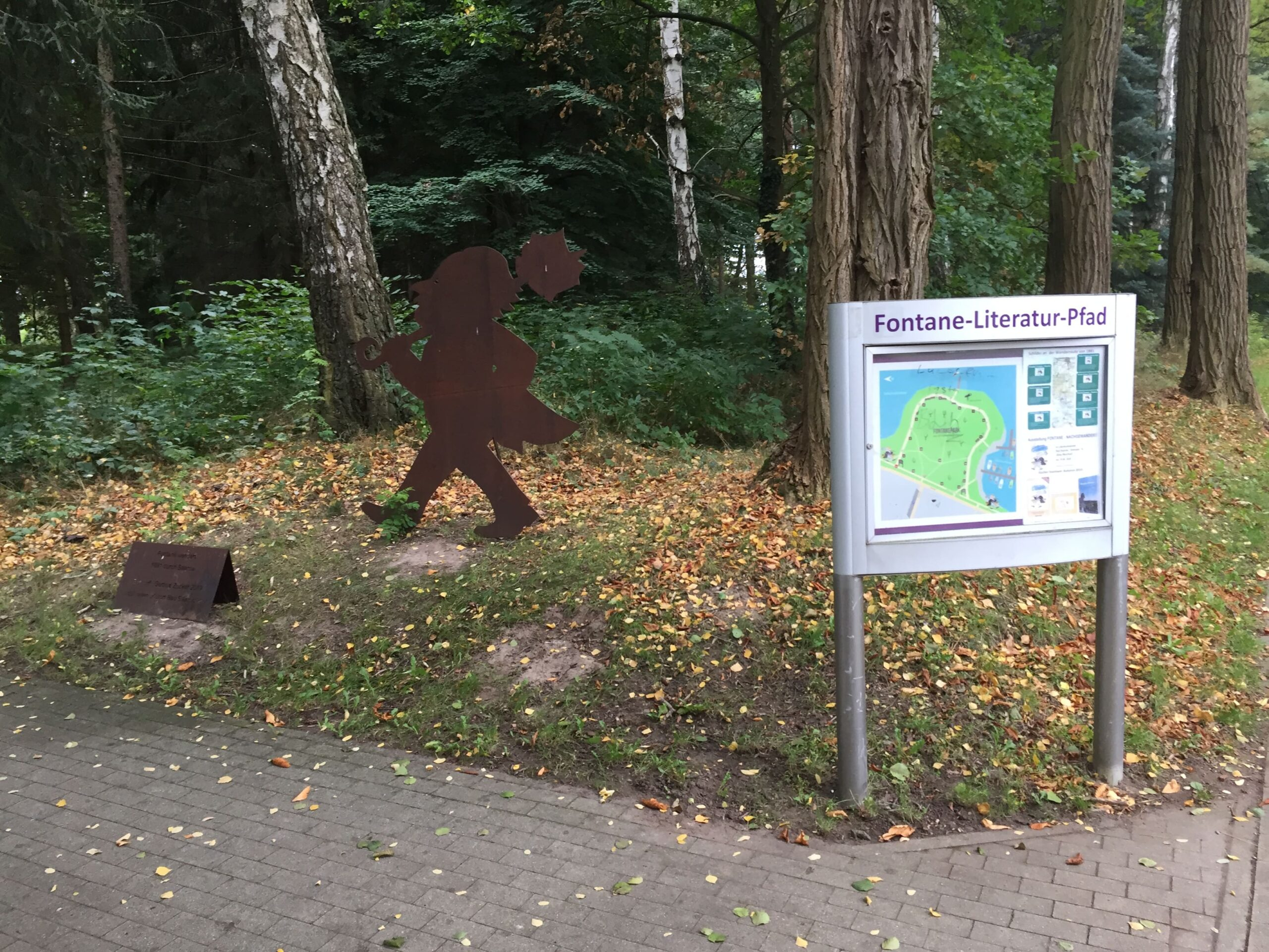 Fontaneweg Literaturpfad Bad Saaorw