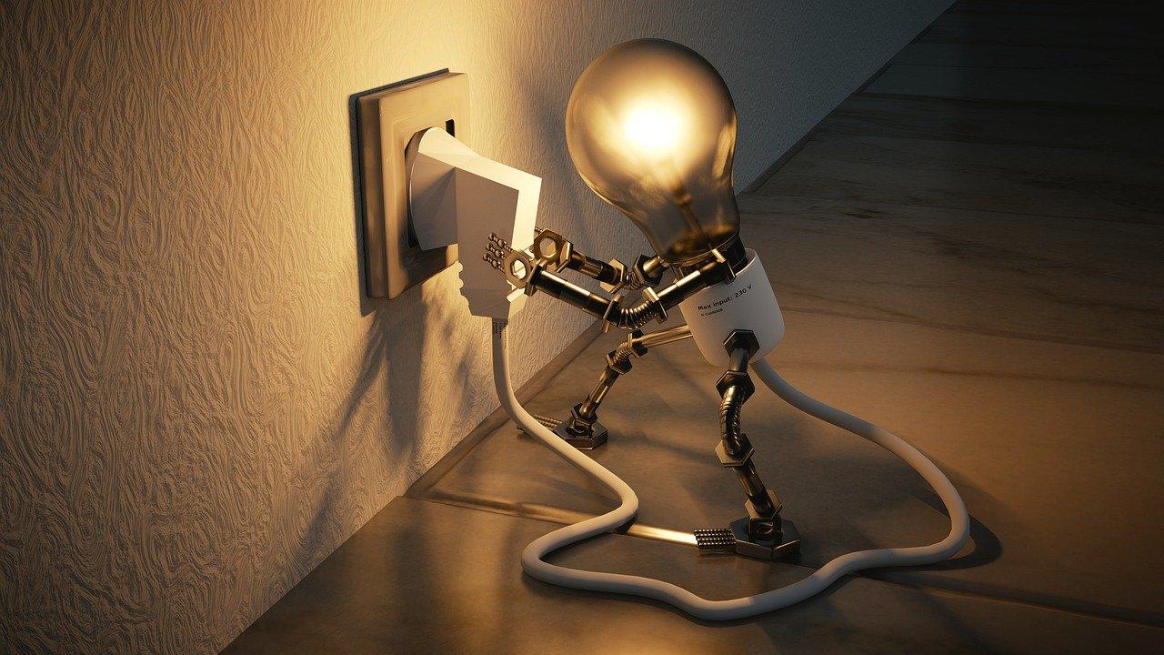 Steigert Lesen die Intelligenz Glühbirne
